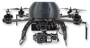 RDASS with Infrared and GoPro Hero4 cameras mounted